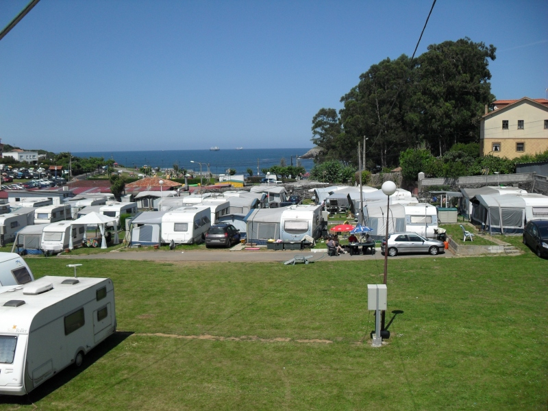 Photo of the environment Camping LAS GAVIOTAS in Castrillón