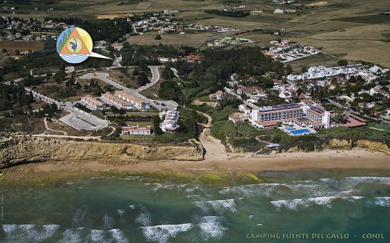 Photo of the environment Camping FUENTE DEL GALLO in Conil De La Frontera