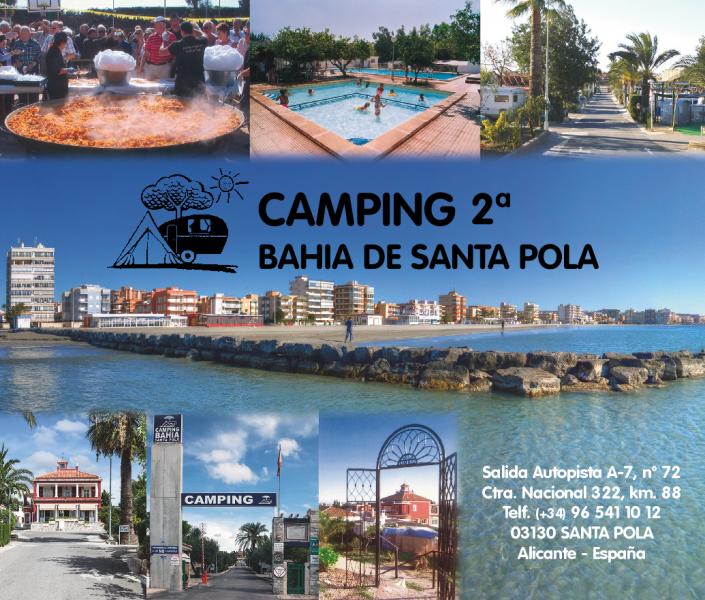 Photo of the environment Camping BAHÍA DE SANTA POLA in Santa Pola