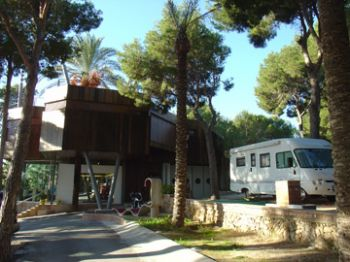 Photo of the environment Camping MORAIRA in Teulada