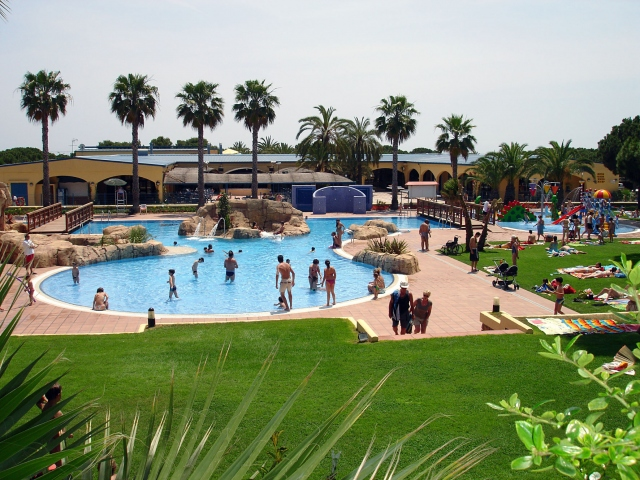 Photo of the environment Camping STEL in Roda De Barà
