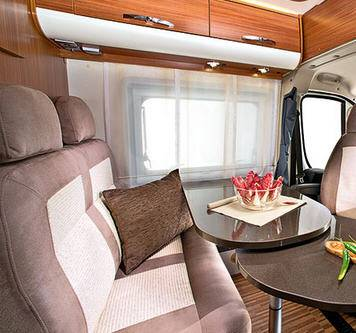 Adria Twin Twin SF - Interior
