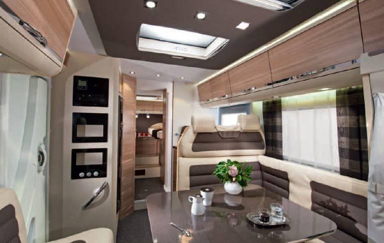 Adria Coral Plus S 670 SL - Forest - Interior