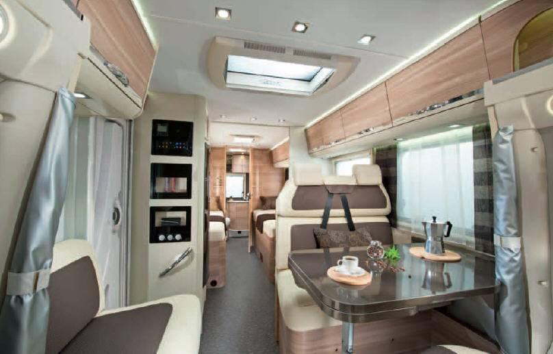Adria Coral Axess S 670 SL - Horizont - Interior