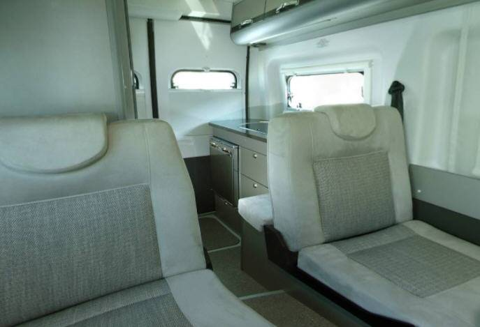 Adria Twin 500 S  (Titan) - Interior