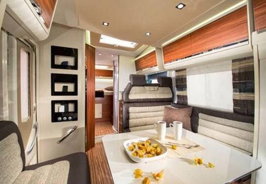 Adria Matrix Plus M 670 SBC - Interior