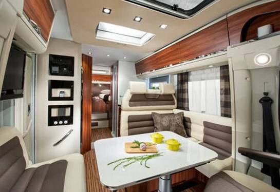 Adria Coral Plus S 650 SF - Interior