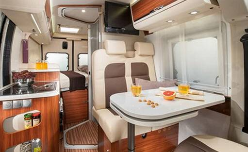 Adria Twin 540 SPT - Interior