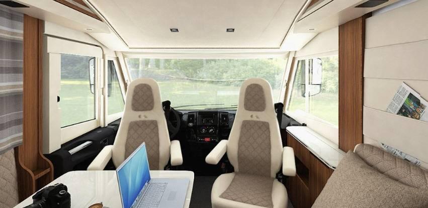 Adria Sonic Supreme I710  SL - Interior