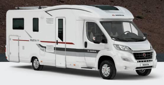 Adria MATRIX Axess M 670SP - Exterior