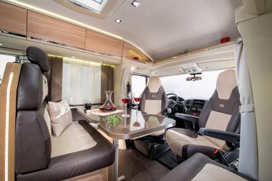Adria Coral Axess S 600 SC - Interior