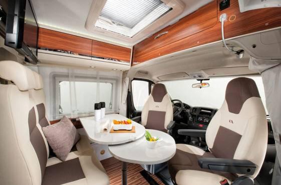 Adria Twin SHX - Interior