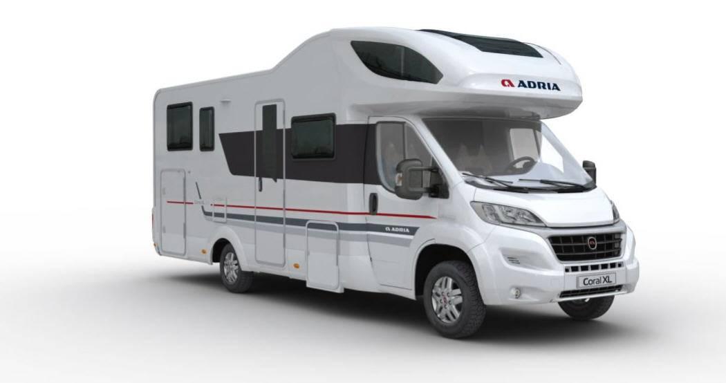 Exterior del modelo Adria Coral Xl Plus A 670 Dk