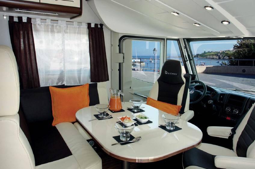 Benimar Aristeo 640 - Interior