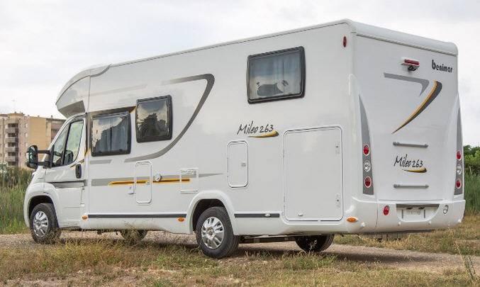 Benimar Mileo M 263 Fiat / 2000 / 115 - Exterior