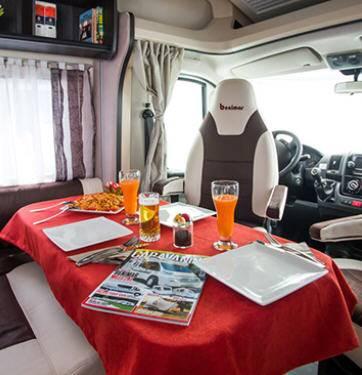 Benimar Aristeo A 640 Fiat / 2300 / 130 - Interior