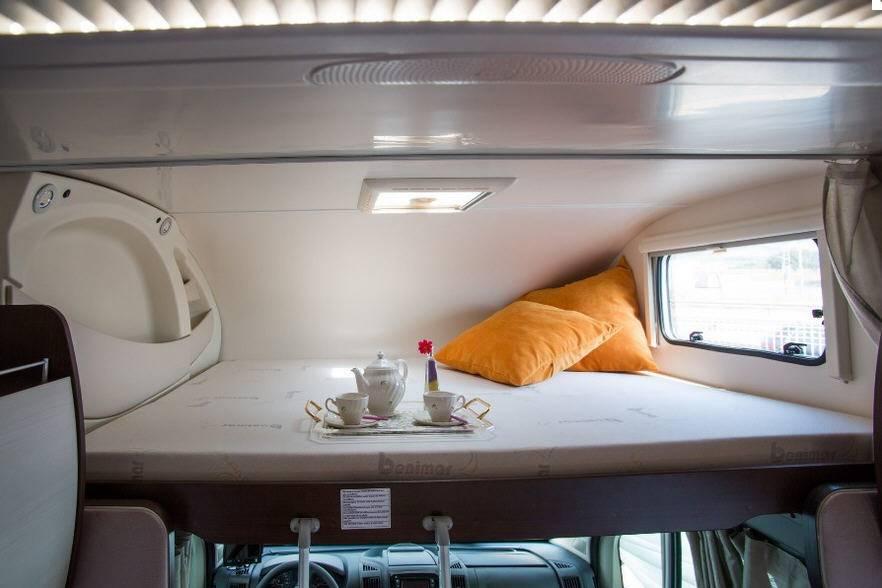 Benimar Sport S 313 Fiat / 2000 / 115 - Interior
