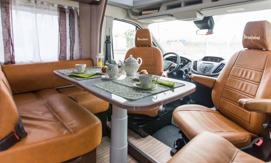 Benimar Benivan B 161 Fiat / 2300 / 130 - Interior