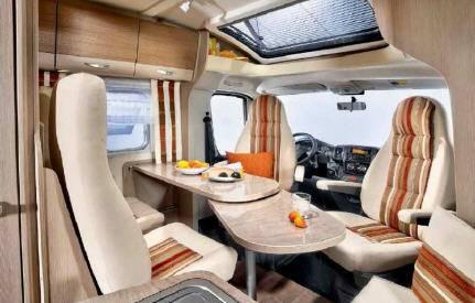 Bürstner Brevio t 600 - Interior