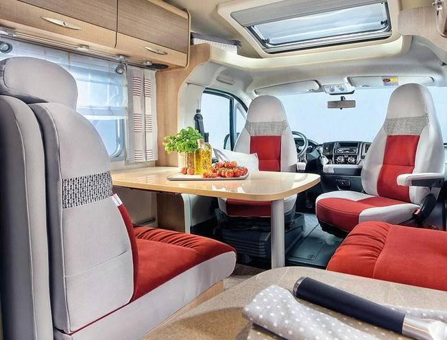 Bürstner Travel Van t 571 G - Interior
