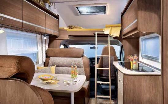 Bürstner Argos Times A 650 - Interior