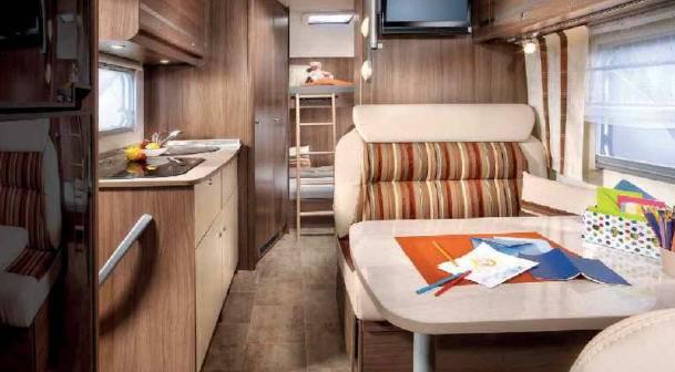 Bürstner Argos Times A 661 - Interior