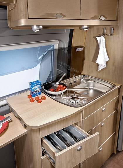 Bürstner City Car C 550 - Interior