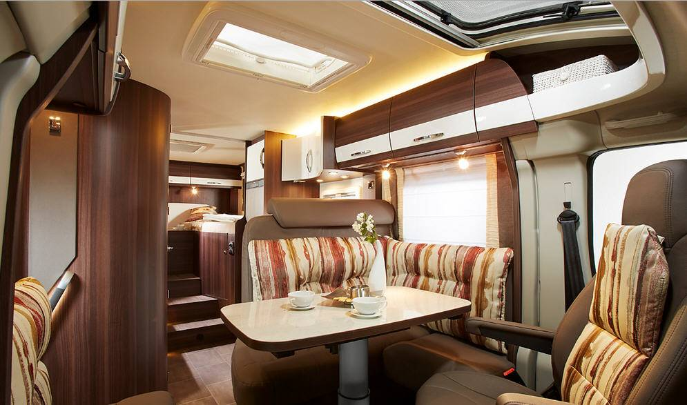 Bürstner Nexxo T 660 - Interior