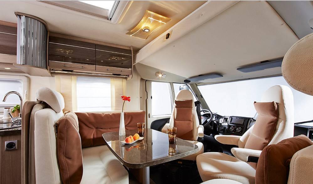 Bürstner Aviano  i 728 G - Interior