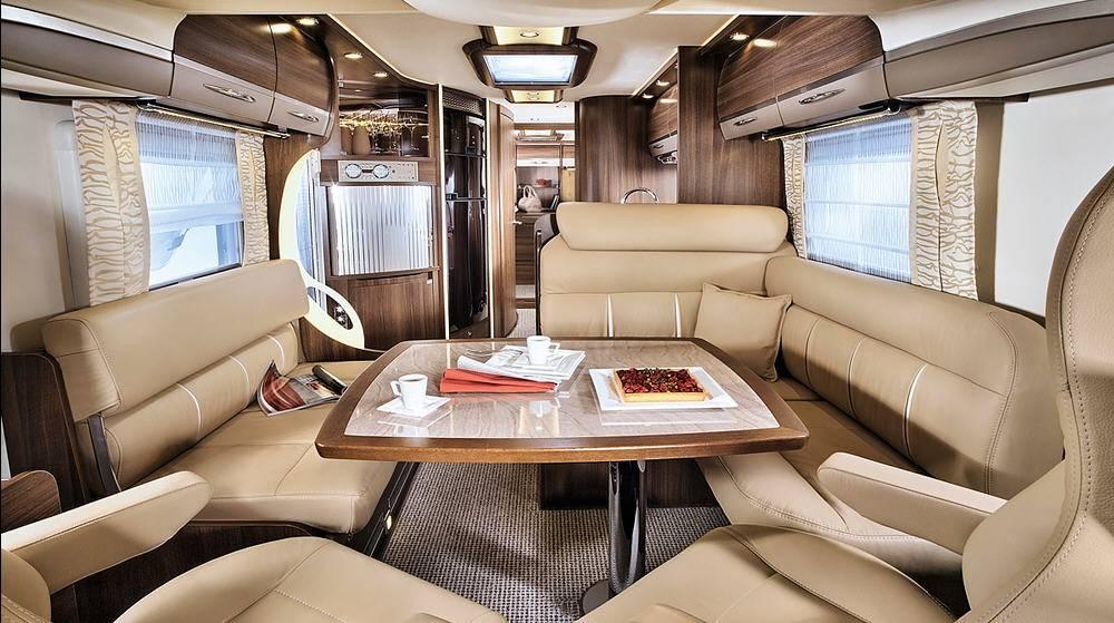 Bürstner Elegance i 800 G - Interior