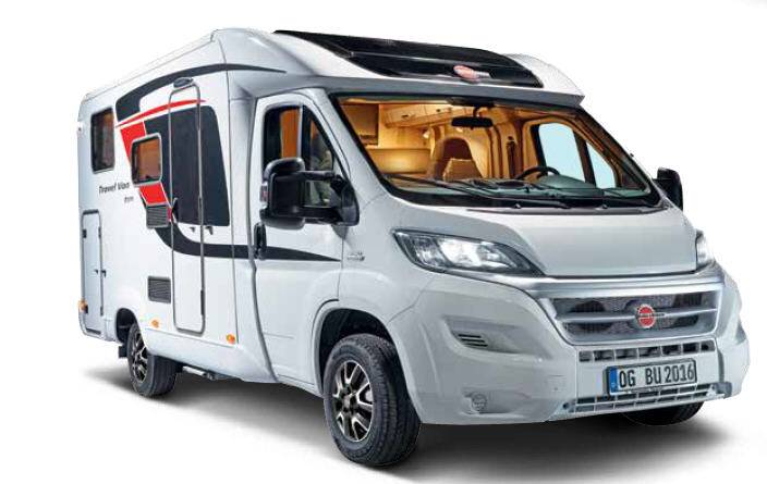 Bürstner Travel Van T620G - Exterior