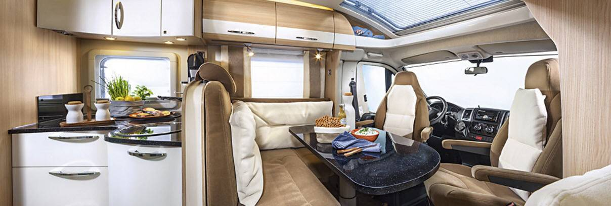 Bürstner Nexxo T690G - Interior