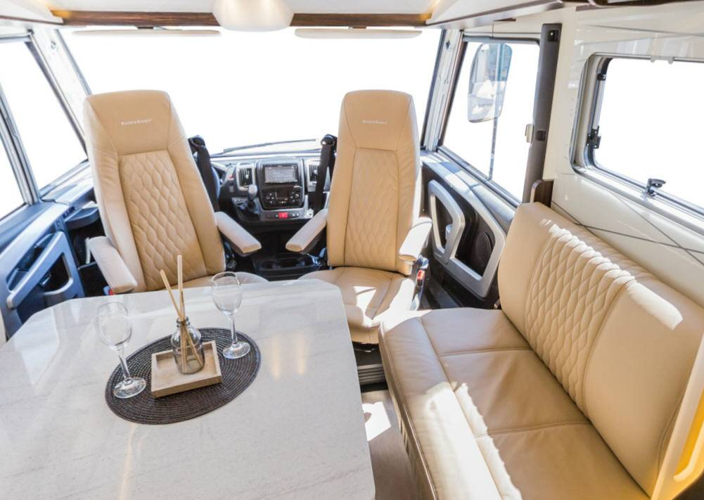Bürstner Elegance I840G - Interior