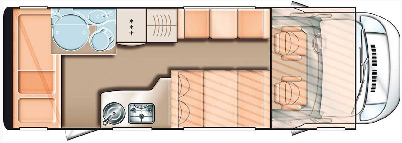 Carado A 461 - Plano - Distribución