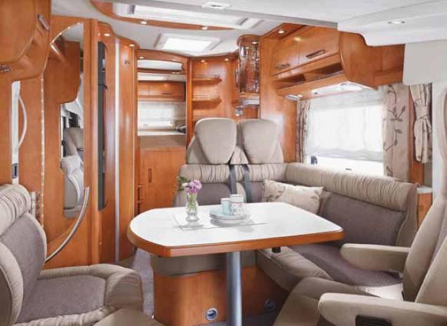 Carthago chic c-line 4.7 - Interior