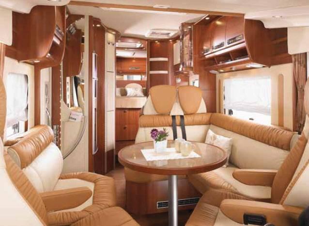 Carthago chic e-line 51 OB linerclass - Interior