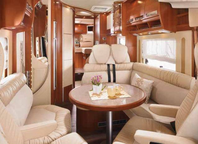 Carthago chic s-plus 51 - Interior