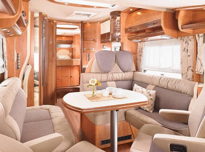 Carthago Chic c-line XL 5.8 Q - Interior