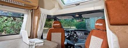 Challenger Genesis 59 - Interior