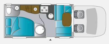 Challenger Genesis 285 - Plano - Distribución