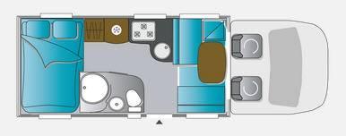 Challenger Genesis 294 - Plano - Distribución