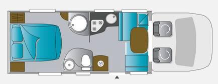 Challenger Genesis 398 EB - Plano - Distribución