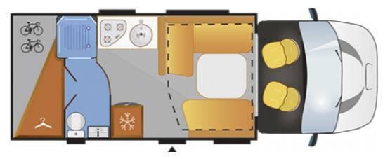 Challenger Genesis 290 - Plano - Distribución