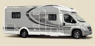 Dethleffs MAGIC EDITION GLOBE 4 7151 - 4 EB SILVER - Exterior