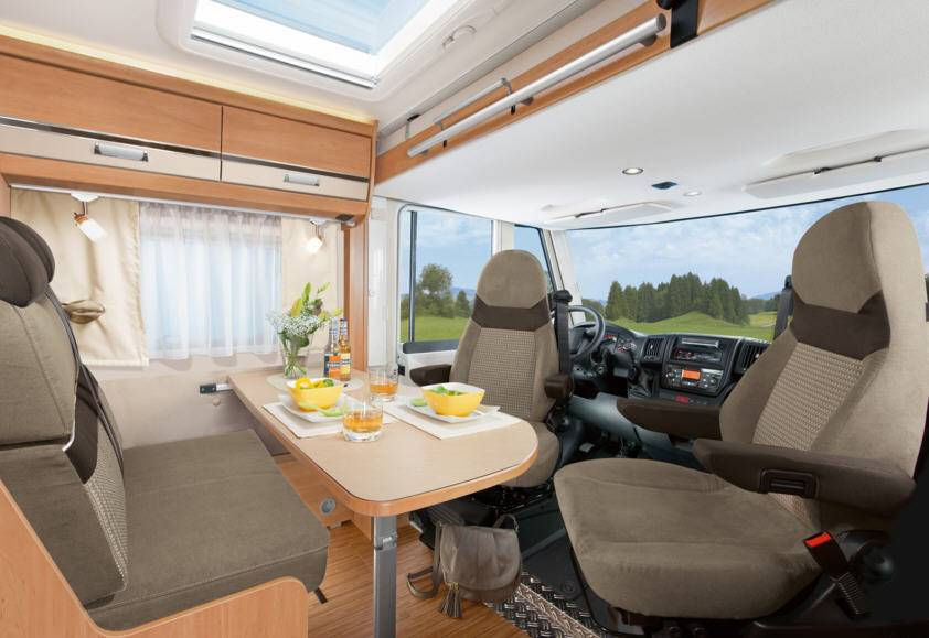 Dethleffs Globebus I - 1 - Interior