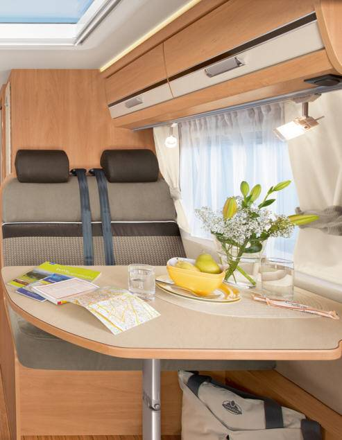 Dethleffs Globebus I - 2 - Interior