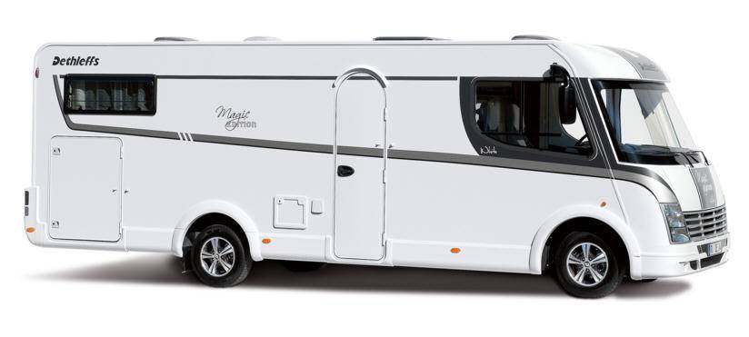 Dethleffs Magic Edition T/I I - White - Exterior