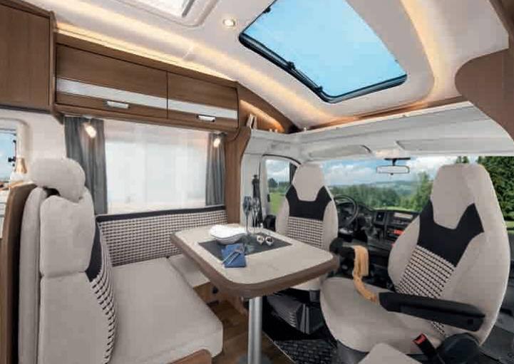 Dethleffs Esprit Comfort A / T / I T-7150-2 DBM - Interior