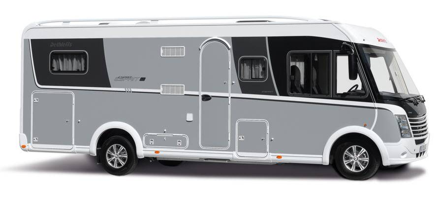Dethleffs Esprit Comfort A / T / I I-7150-2 DBM - Exterior