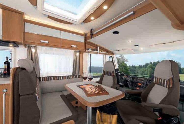 Dethleffs Esprit Comfort A / T / I I-7150-2 EB - Interior